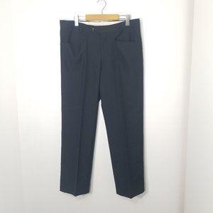 Joseph & Feiss   Black Wool Blend Slacks Pants 36